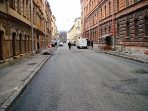 Улица Оружейниа Федорова